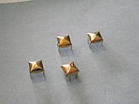 Пирамидка 6*6 золото  (1000 штук)