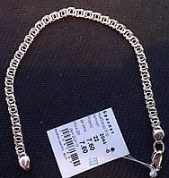 Серебряный браслет Арабка 925 пробы