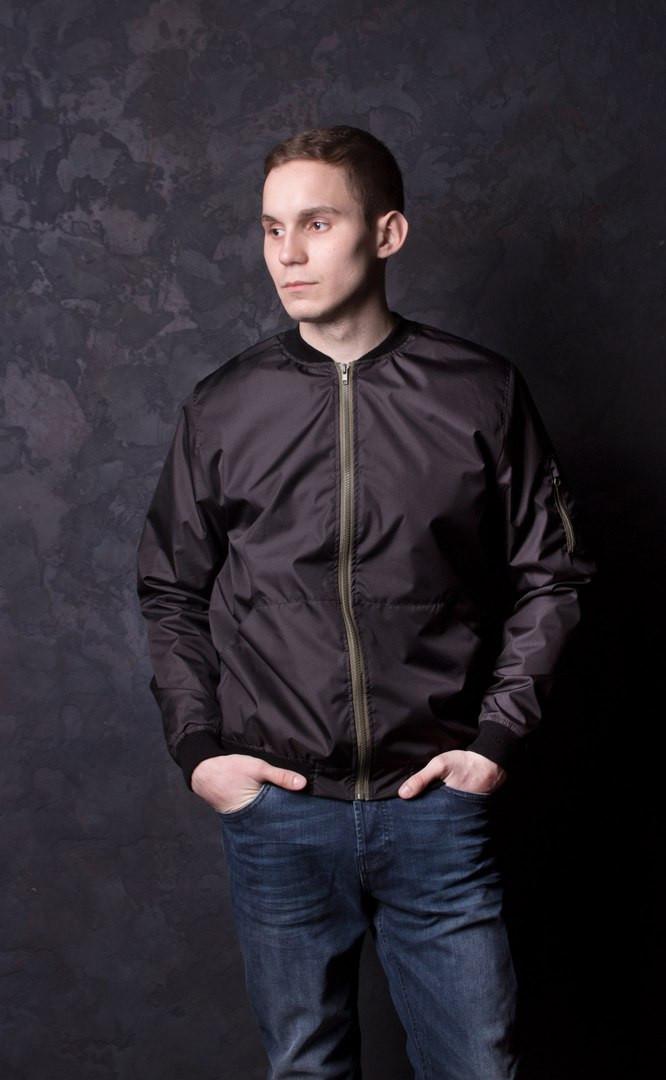 Мужская куртка ветровка бомбер