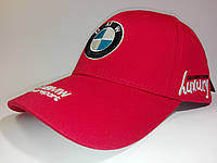 Кепка бейсболка BMW красная