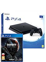 Sony PlayStation 4 Slim 1TB  +  Mass Effect Andromeda