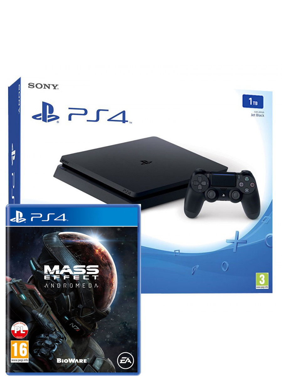 Sony Playstation 4 Slim 1 Tb Cuh 2016b 1tb Mass Effect Andromeda 365 Euro Medi Shop