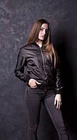 Женская куртка ветровка бомбер