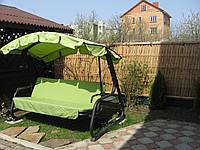 Бамбуковый забор с окантовкой, натуральный, 2,2х1,4м
