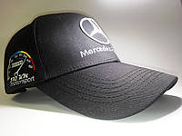 Кепка бейсболка Mercedes черная