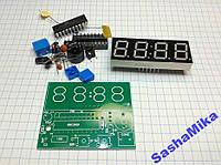 КИТ, набор LED часы с будильником, AT89C2051