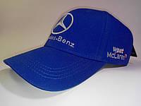 Кепка бейсболка Mercedes синяя