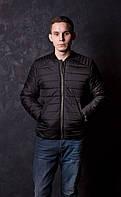 Мужская куртка ветровка бомбер на силиконе, фото 1