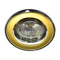 Светильник точечный Feron 301Т МR-16 золото-хром