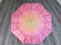 """Зонт женский """"Крупные Цветы"""" система полуавтомат"""