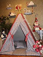 """Детский игровой домик, вигвам, палатка, шатер, шалаш """"Аисты"""""""