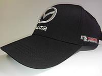 Кепка бейсболка Mazda черная