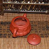 """Чайник из красной глины """"Тыква"""", 160 мл, фото 7"""