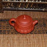 """Чайник из красной глины """"Тыква"""", 160 мл, фото 2"""
