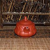 """Чайник из красной глины """"Тыква"""", 160 мл, фото 3"""