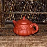 """Чайник из красной глины """"Тыква"""", 160 мл, фото 5"""