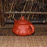 """Чайник из красной глины """"Тыква"""", 160 мл, фото 6"""