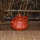 """Чайник из красной глины """"Тыква"""", 160 мл, фото 4"""