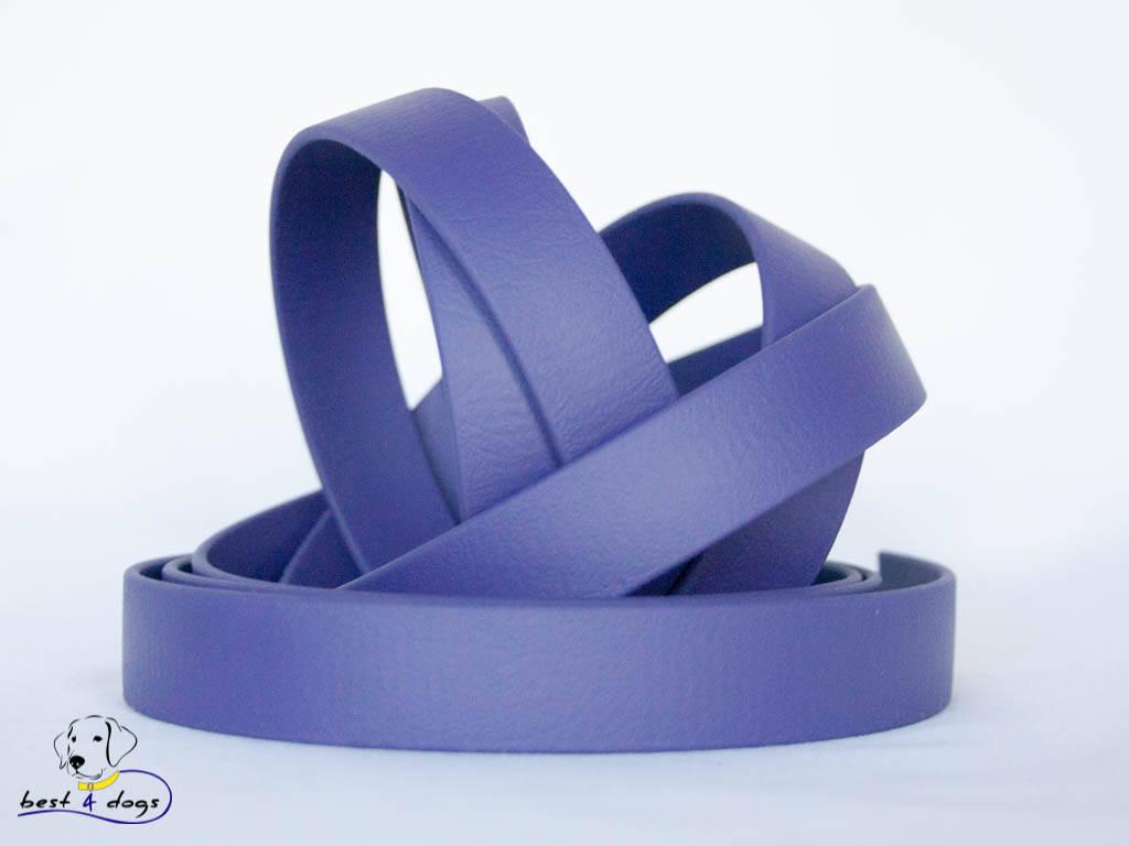 Поводок из биотана(Biothane) Фиолетовый 19мм