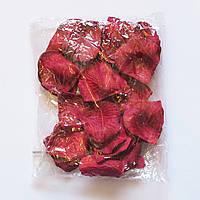Лепестки роз искусственные SoFun бордовые 600 шт, фото 1
