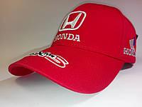 Кепка бейсболка Honda красная