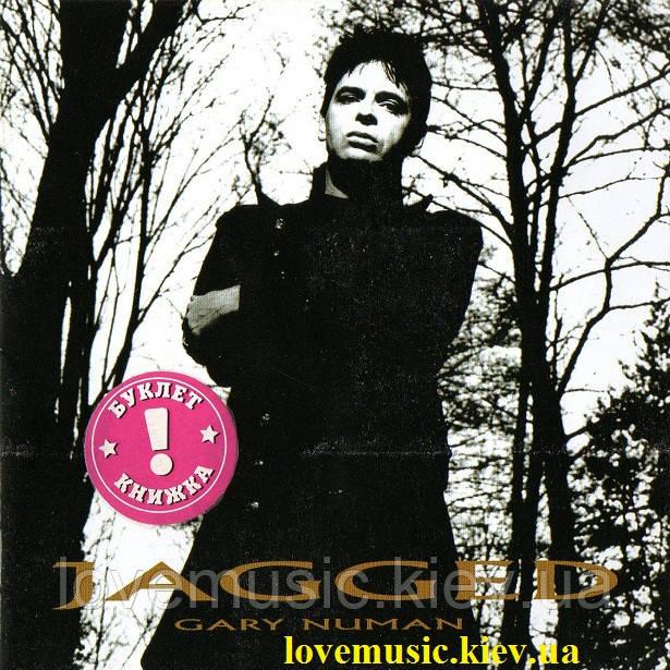 Музичний сд диск GARY NUMAN Jagged (2006) (audio cd)