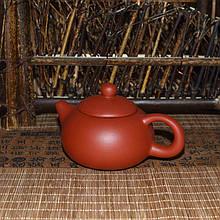 Глиняний Чайник червоний, 130 мл