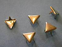 Украшение треугольник золото (1000 штук)