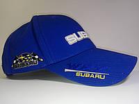 Кепка бейсболка Subaryu синяя