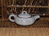 """Чайник из глины """"Колотый лед"""", 160 мл, фото 7"""