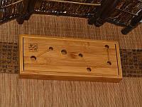 Чабань. Чайный столик. Доска для чайной церемонии. 300х120х35 мм