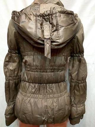 Куртка весна-осень athena ,(кожзам), фото 2