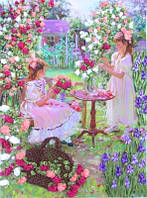 Набор для вышивания лентами Цветы для мамы