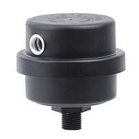 Воздушный фильтр для компрессора диаметр резьбы М12 пластиковый корпус PT-0022 INTERTOOL PT-9083
