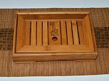 Чабань. Чайний столик. Дошка для чайної церемонії. 278х179х65 мм