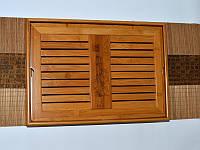 Чабань. Чайный столик. Доска для чайной церемонии. 399х281х65  мм