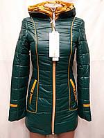 Куртка удлиненная  2 змейки  весна-осень ATHENA ,(модель 68-66 )