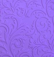 Текстурный силиконовый коврик для мастики Ажурный Завиточек 580*380мм Empire EM8404 (Эмпаир)