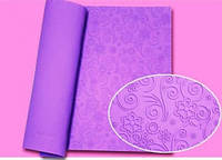 Текстурный силиконовый коврик для мастики Завиточек 580*380мм Empire EM8407 (Эмпаир)