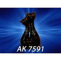 Копилка Коты Семья большая Глазурь черная АК-7591