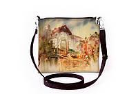 Женская сумочка, клатч пейзаж