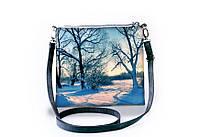 Женская сумочка, клатч Зима