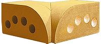 Облицовочный кирпич «Литос» угловой элемент «полукруг внутренний»