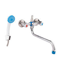 Смеситель для ванны с душем GF ITALY (CRM)/S-24-143S
