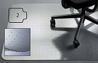 Защитный коврик PC, для ковровых покрытий, 2,3мм,  92 x 121 см *