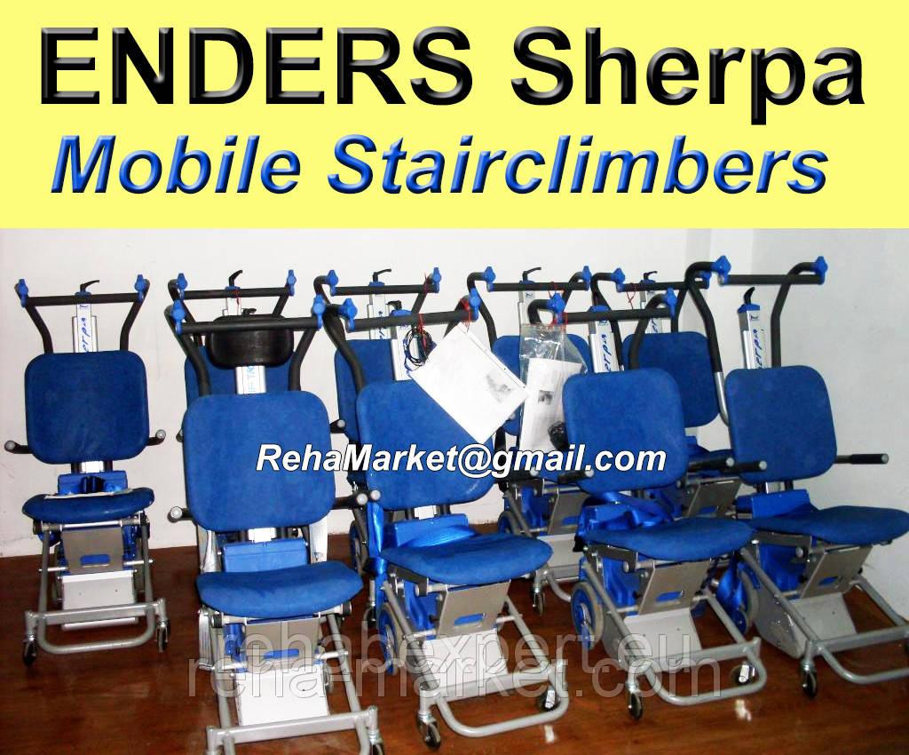 Ступенькоход подъемник лестничный SHERPA ENDERS Устройство для устранения барьеров архитектурных.