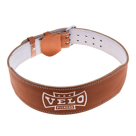 Пояс штангиста кожа узкий Velo VLS-17026, фото 2