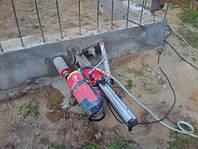 Бурение отверстий  в бетоне, Бурение отверстий  в железобетонебетоне