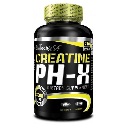 Креатин Creatine pH-X (210 капс.) BioTech USA