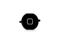 Накладка на кнопку (Home) для iPhone 4S черная